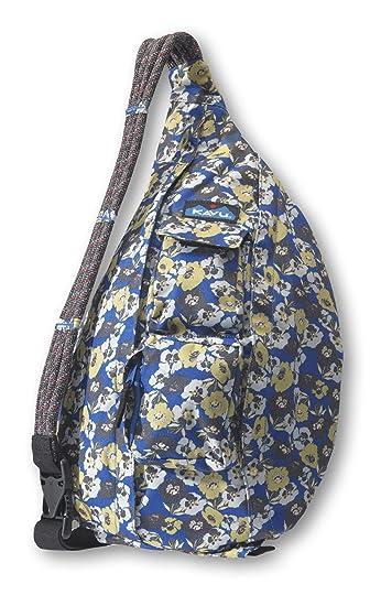 """KAVU Rope Sling Polyester 11/""""x20/"""" Bag Purse w// Adjustable Shoulder Strap NEW"""