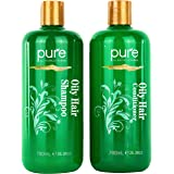 Oily Hair Shampoo & Conditioner Set for Oily Hair. Hair Strengthener & Itchy Scalp Shampoo Treatment. Natural Oily Hair…