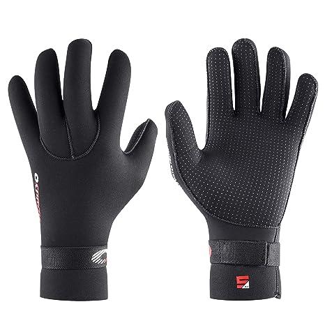 Osprey Adult 5mm Winter Wetsuit Gloves - Stretch Neoprene ...