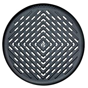 Air Fryer Grill Pan Accessory Compatible with Philips, Ninja, GoWise, Black+Decker, Secura, Chefman, Habor, Farberware, Cozyna, Emerald, Bella, Della +More Deep Fryers 2.0 Qt & Up by Infraovens