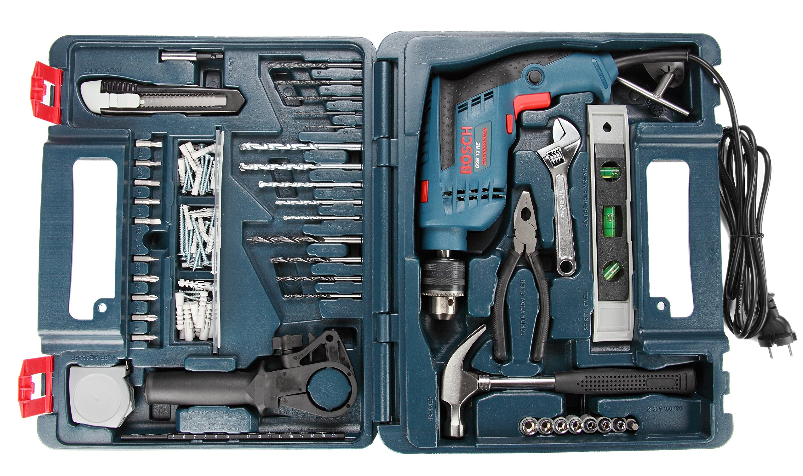 Bosch GSB 13 RE Reversible Professional Impact Drill, 600 watts, 13mm product image