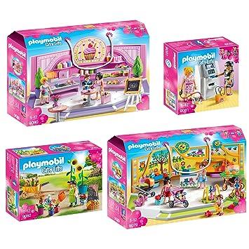 981b872c8 Playmobil City Life 4 pcs. Set 9079 9080 9081 9082 infant supplies + ...