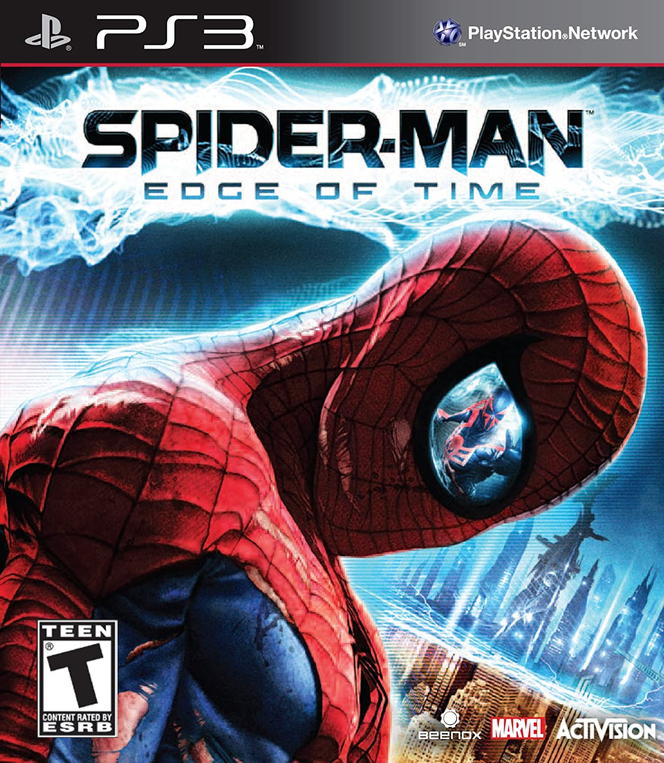 amazon com spider man the edge of time playstation 3 video games