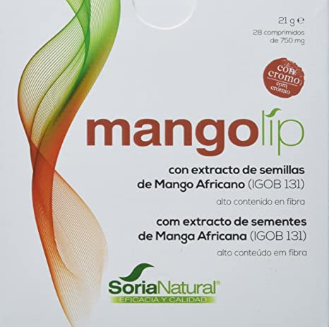 Soria Natural Mangolip - 28 Cápsulas