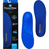 Powerstep Pinnacle Insole, BLUE, Men's 10-10.5, Women's 12