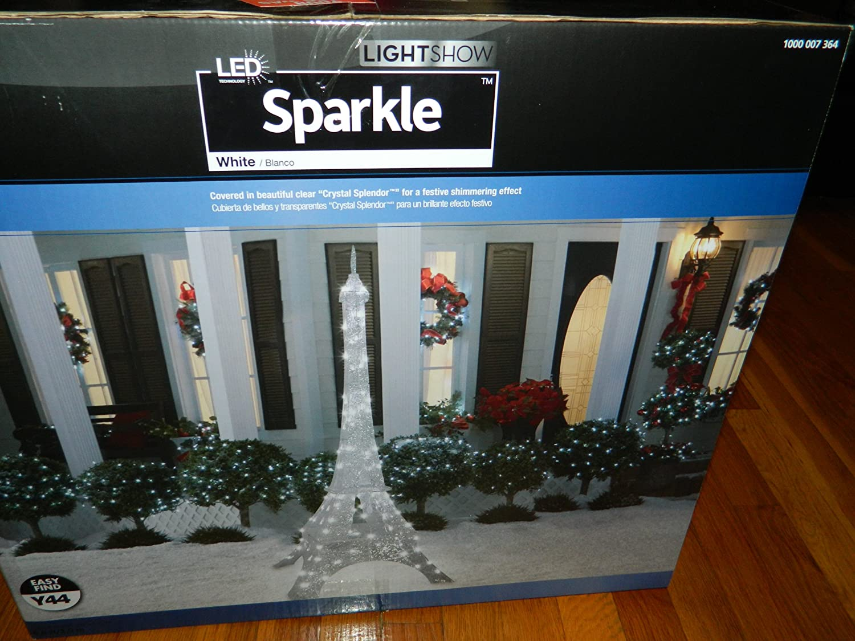 Amazon.com : 6.75 Ft Eiffel Tower Sparkle Crystal Splendor Outdoor ...