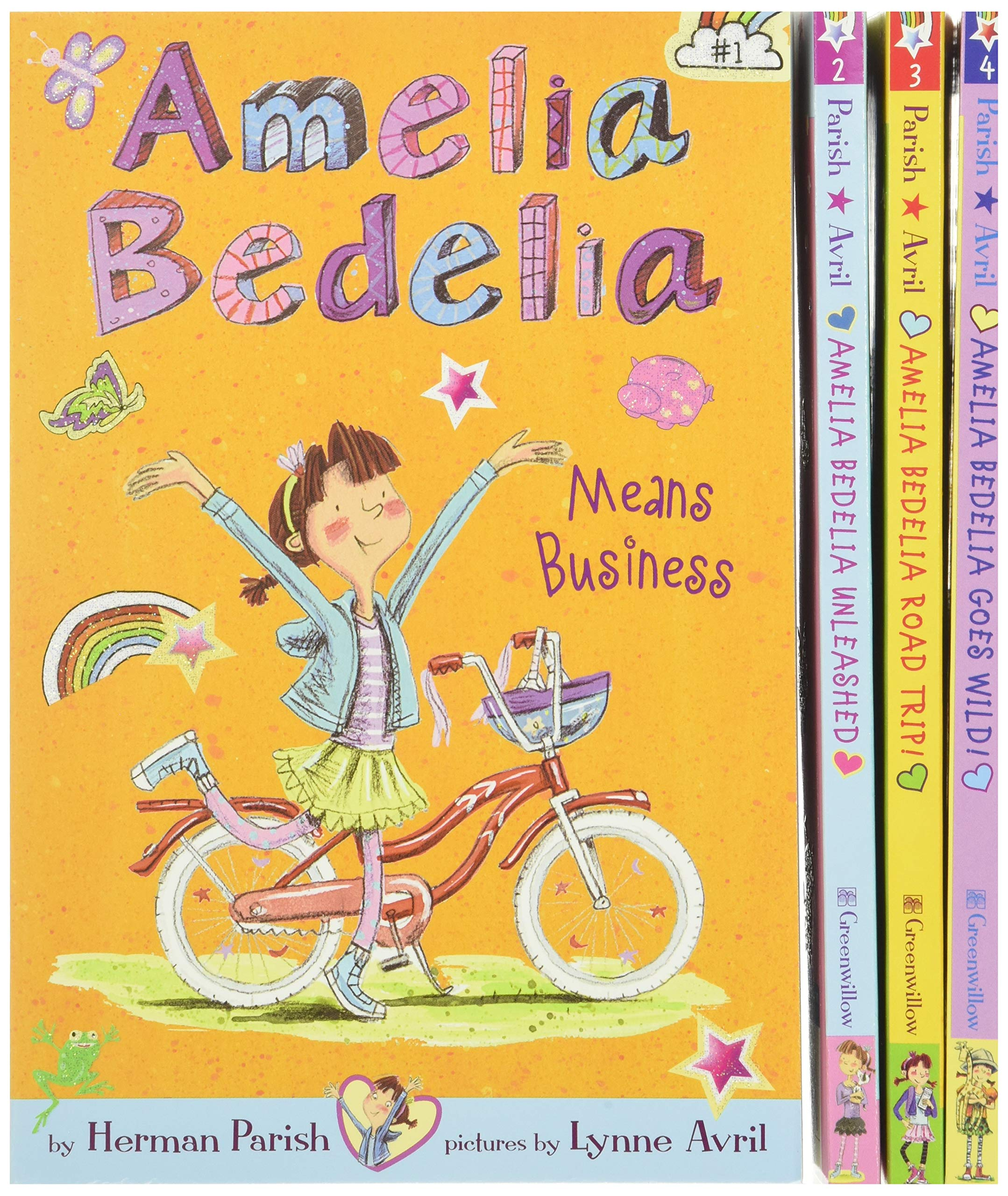 Amelia Bedelia Chapter Book 4-Book Box Set: Books 1-4