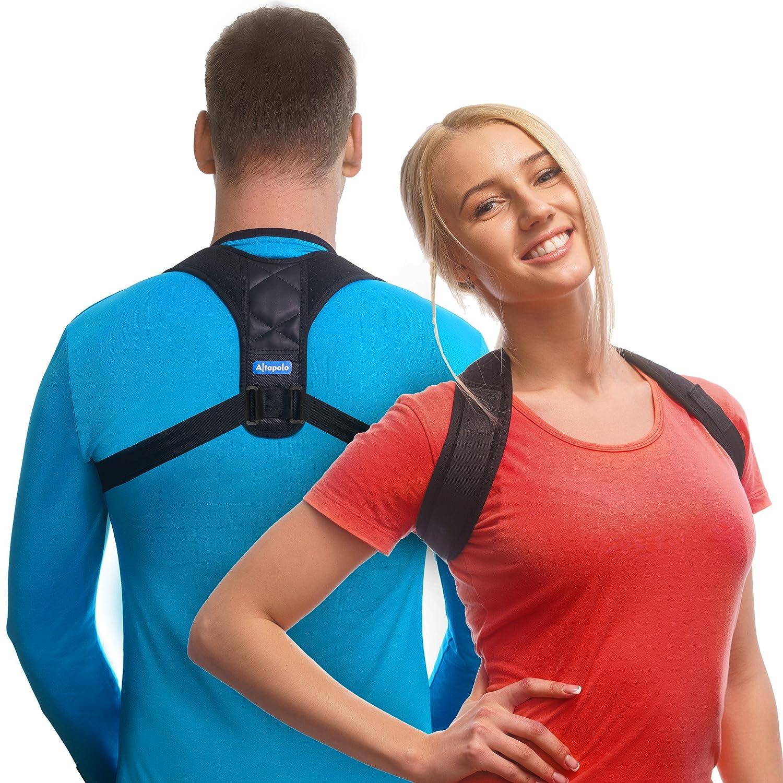 Best Posture Corrector Rounded Shoulders Reviews Men Women Shoulder Elastis Altapolo Back For