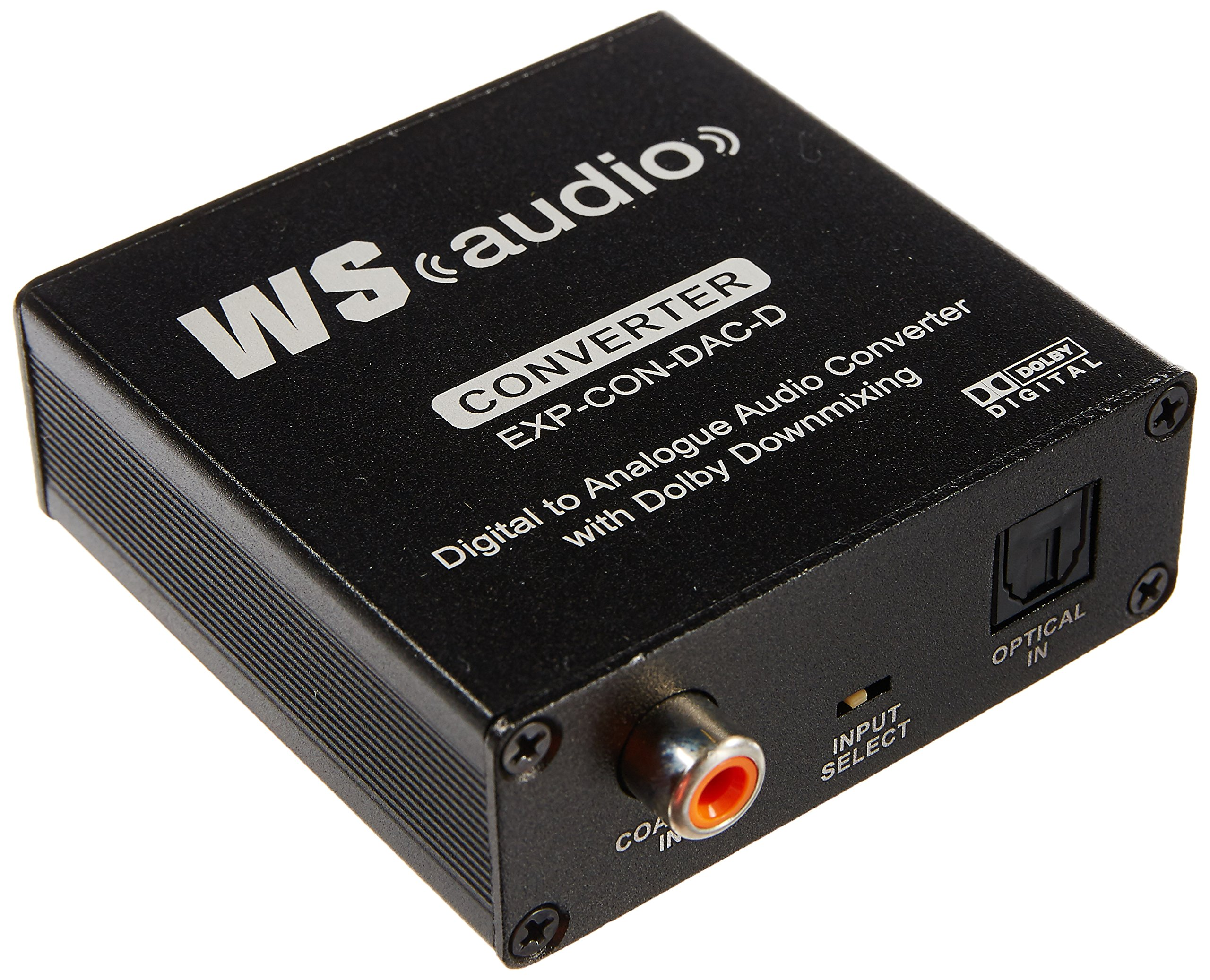 WyreStorm Express™ Digital to Analogue Audio Converter with Dolby Downmix by Wyrestorm