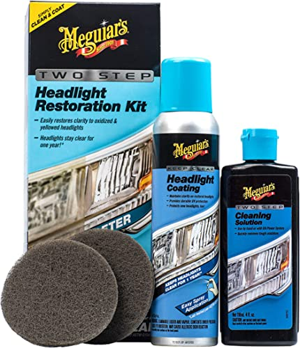 Meguiar's G2970 Two-Step Headlight Restore 2Step