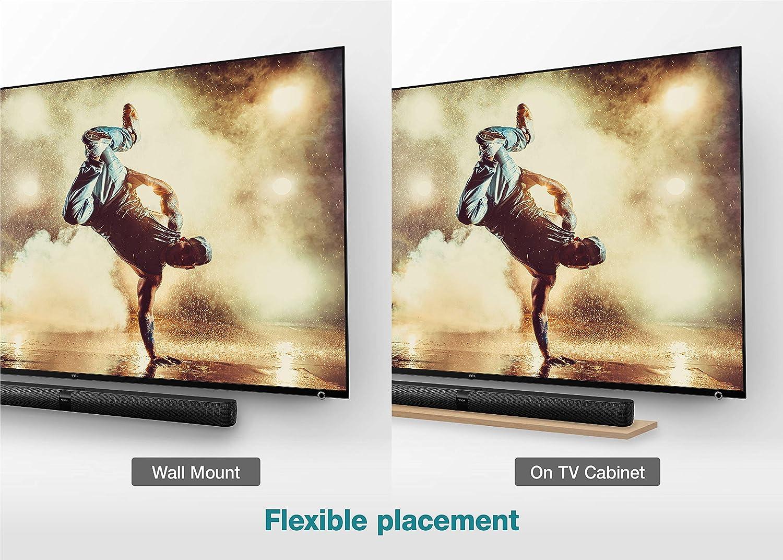 Barra de Sonido TCL TS7000 (92 cm) para TV (Bluetooth, Canal de Sonido 2.0, 80 vatios, HDMI ARC, Entrada AUX de 3,5 mm, USB, Mando a Distancia), Color Negro: Amazon.es: Electrónica