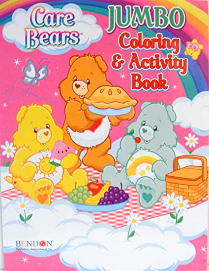 Amazon.com: CARE BEARS COLORING & ACTIVITY BOOK (C): Toys & Games