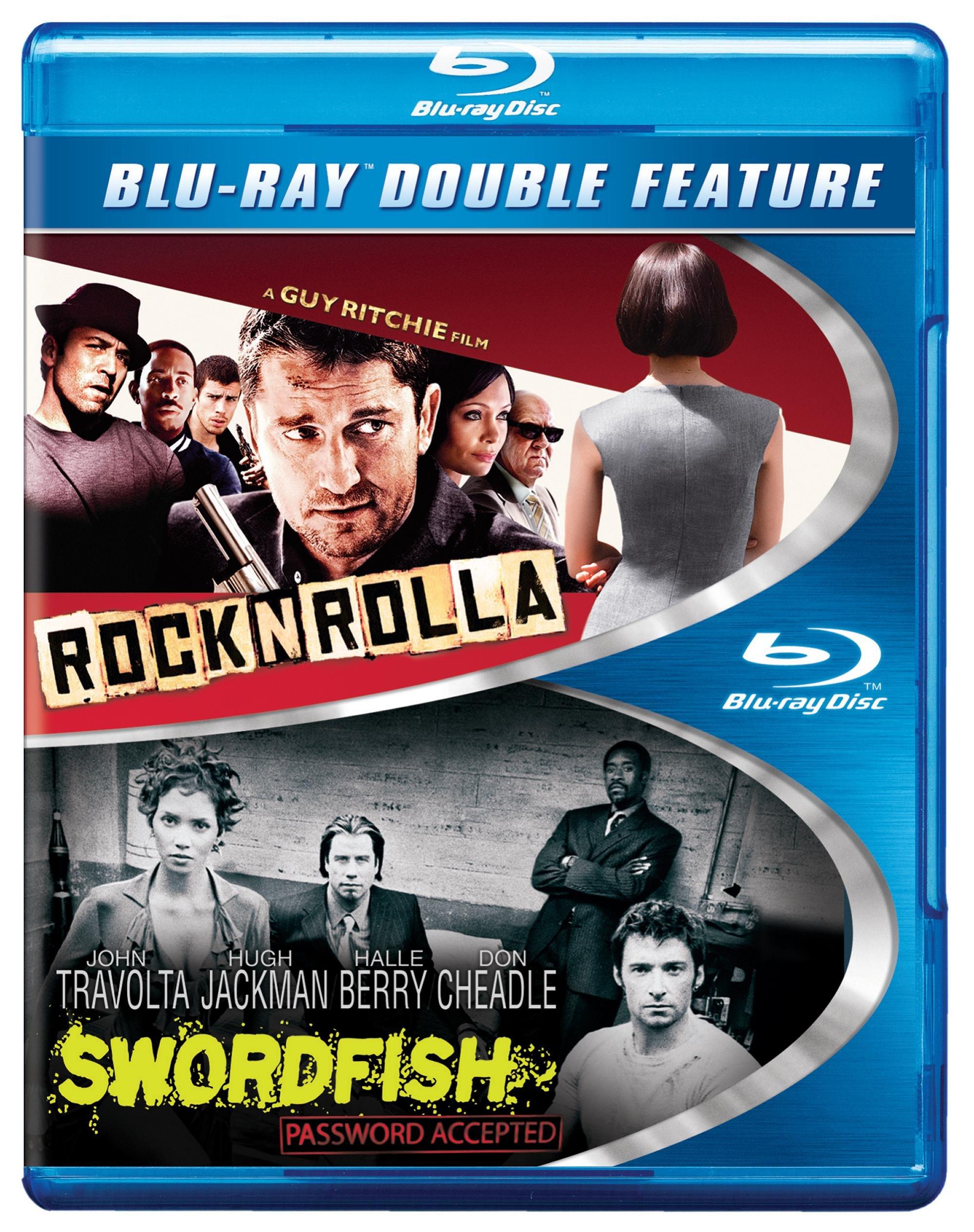 Blu-ray : Rocknrolla/ Swordfish (2 Pack, 2 Disc)