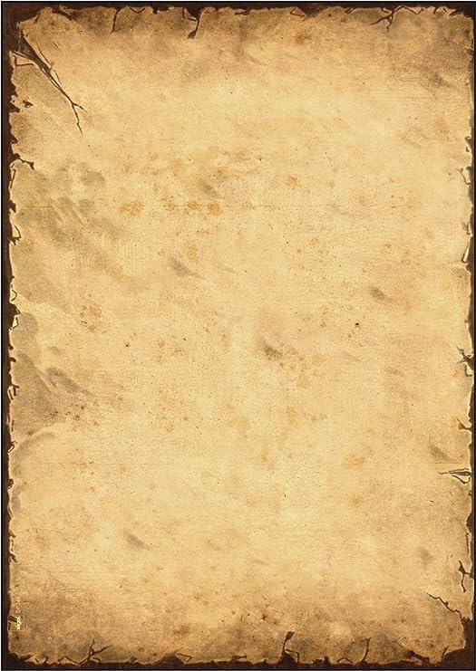 Blue 20 Sheets Sigel Motif Certificate Cardboard A4 Papers ,DP490