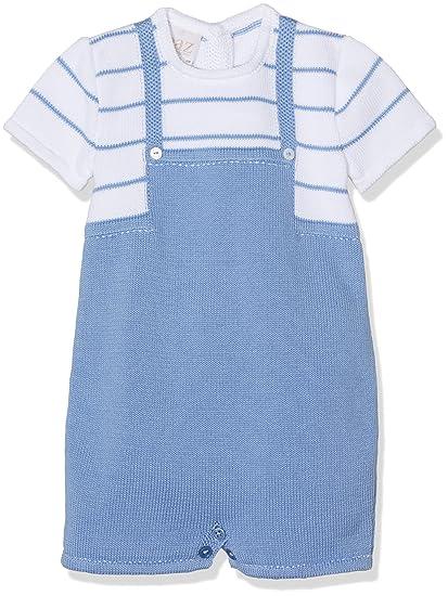 PAZ Rodriguez 005-92588, Conjunto de Ropa para Bebés, (Azul Añil/Blanco), 12M: Amazon.es: Ropa y accesorios