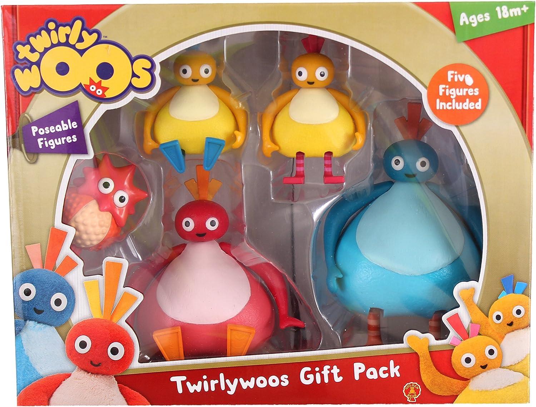 Twirlywoos 5 Figure Gift Pack avec Exclusive Peekaboo NEUF