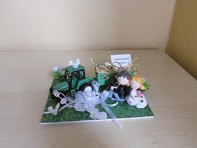 Bauernhochzeit Geldgeschenk Hochzeit Traktor Amazon De Handmade