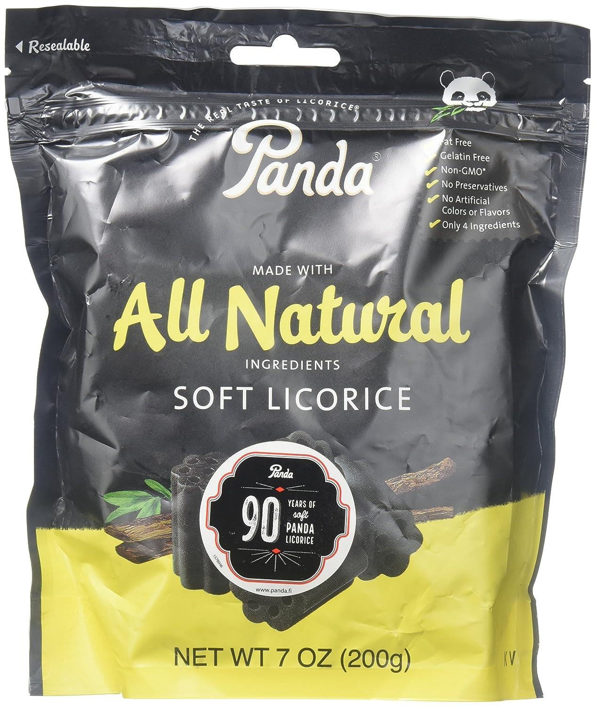 Panda Natural Licorice Chews 7oz (pack Of 4)