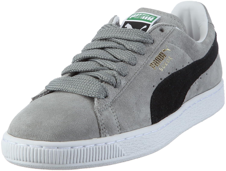 Puma Suede Classic 350734 Herren Sneaker  37 EU|Grau/Limestone Gray-black-white