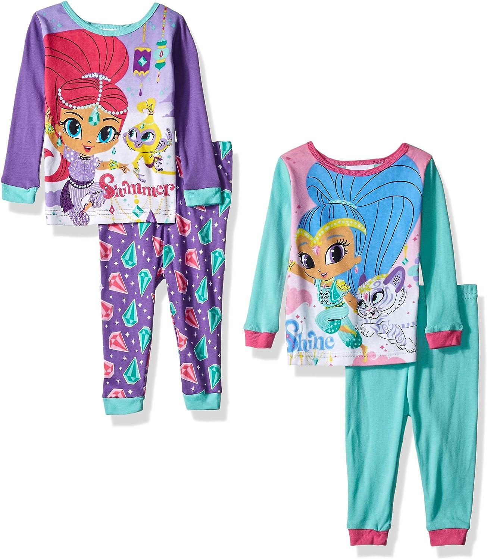 Nickelodeon Shimmer and Shine Girls Nightgown Pajamas Little Kid//Big Kid