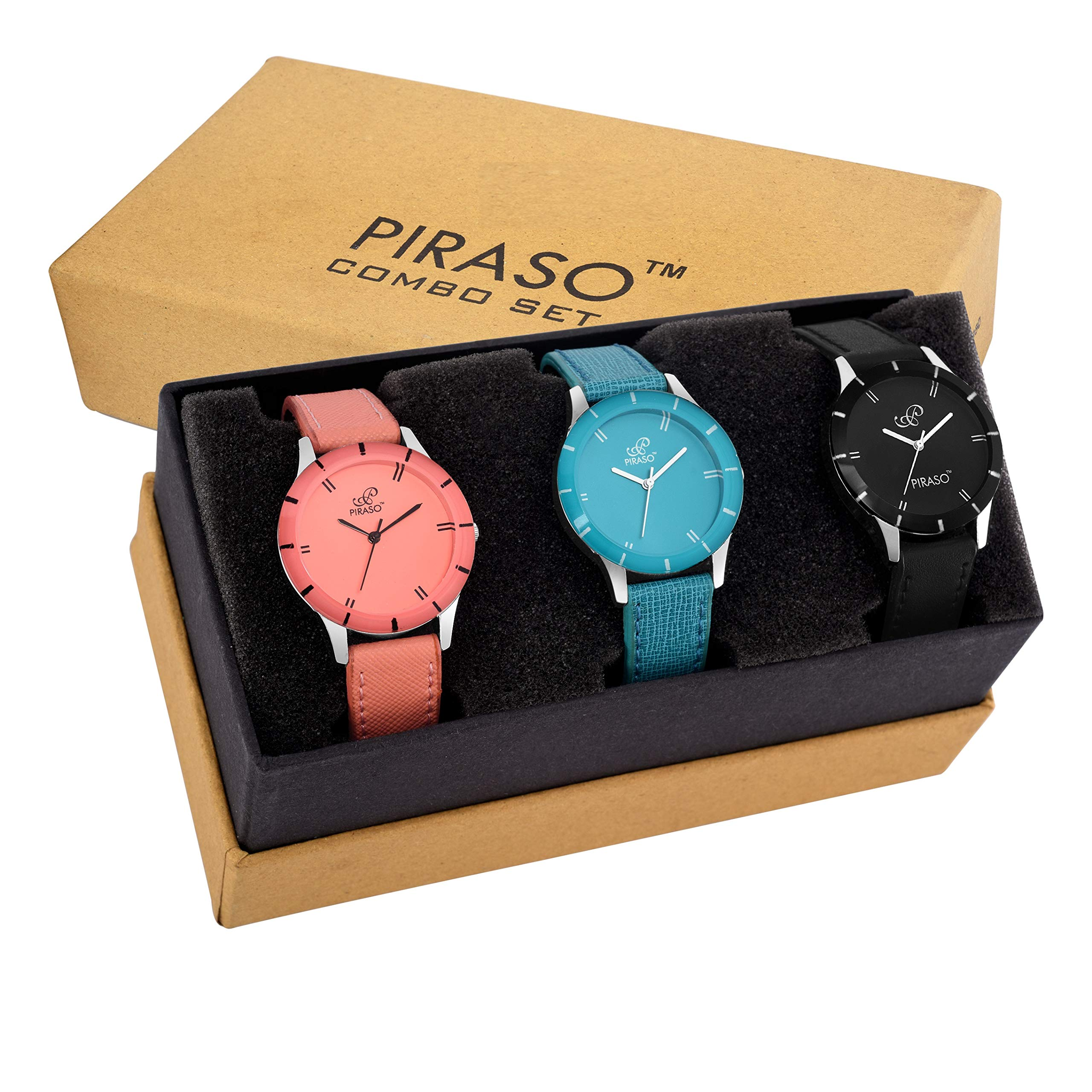 PIRASO Fasttrend Analogue Black Dial Girl's Watch- PW3-07 product image