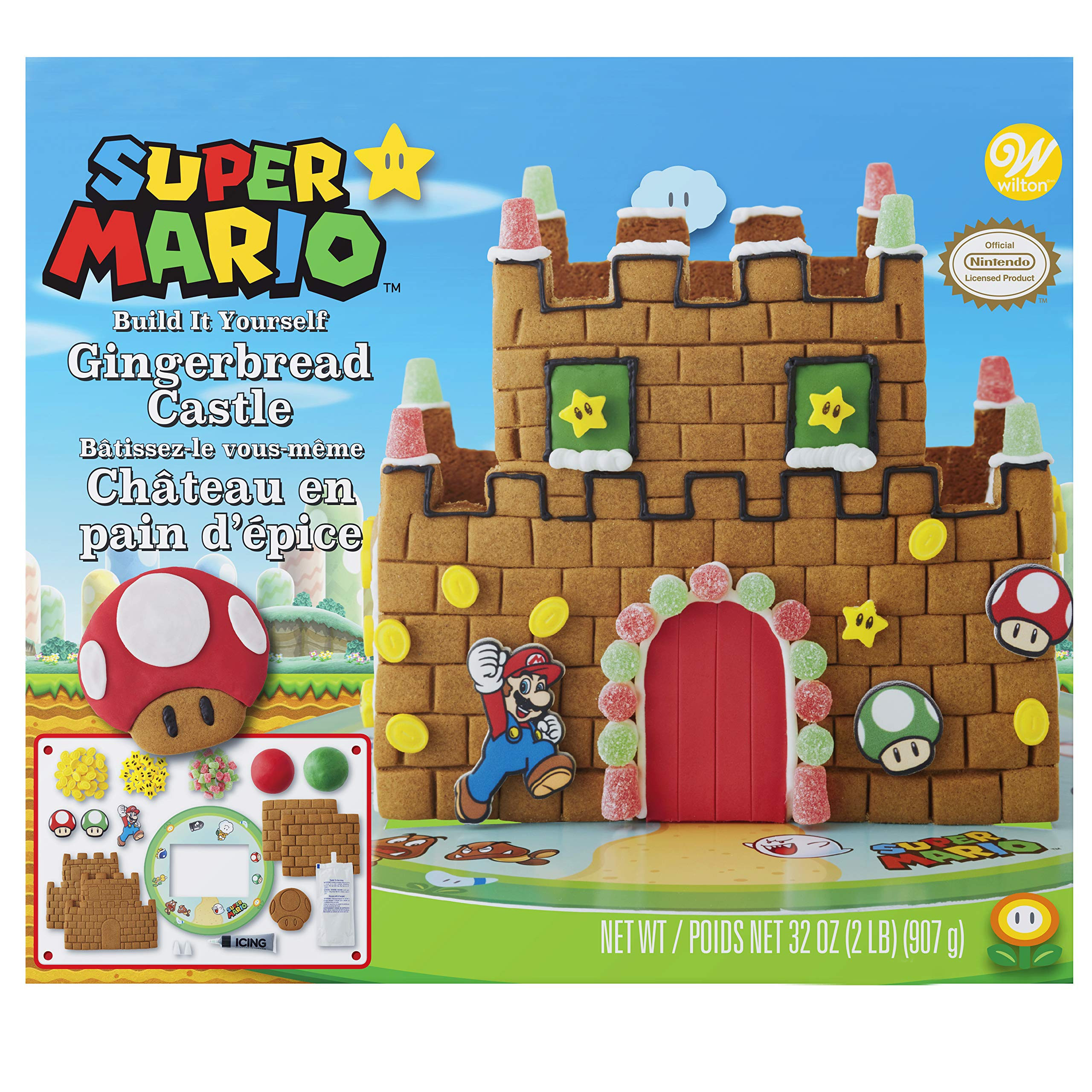Amazon Com The Grinch Who Ville Gingerbread House Kit Grocery