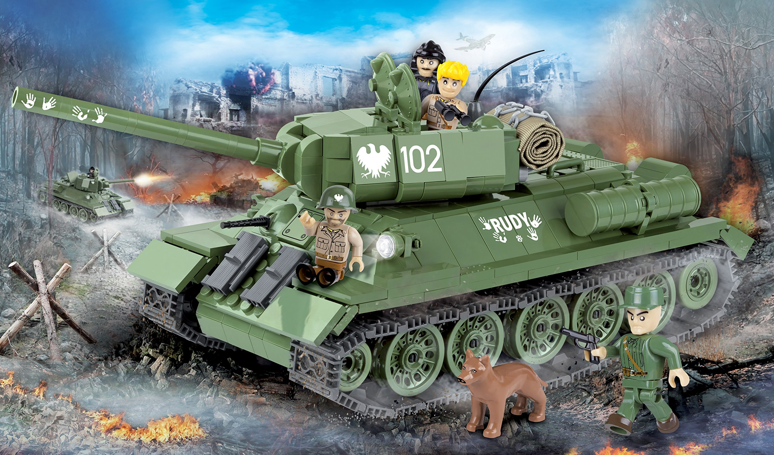 COBI T-34/85 Rudy Tank