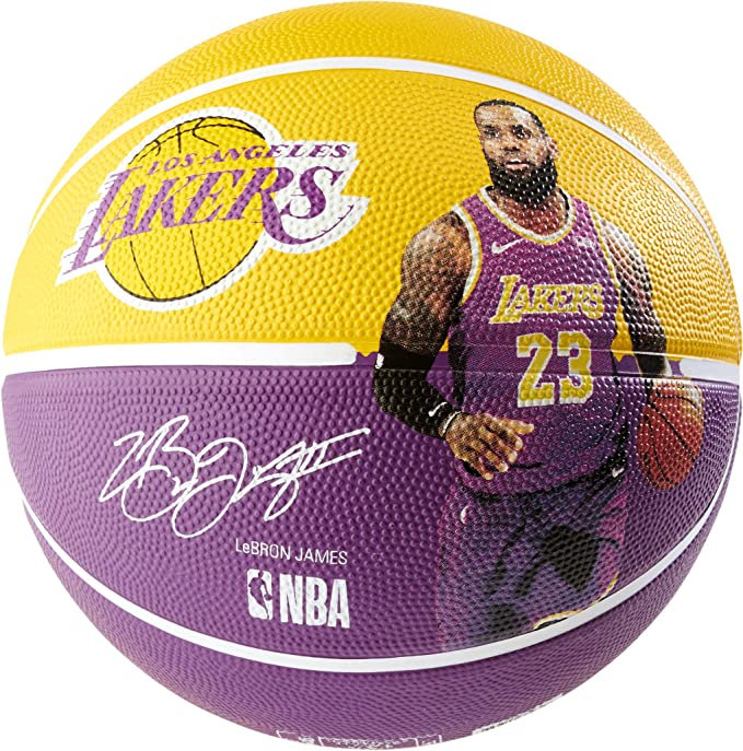 Spalding NBA Player Lebron James SZ.7 (83-848Z) Basketballs ...