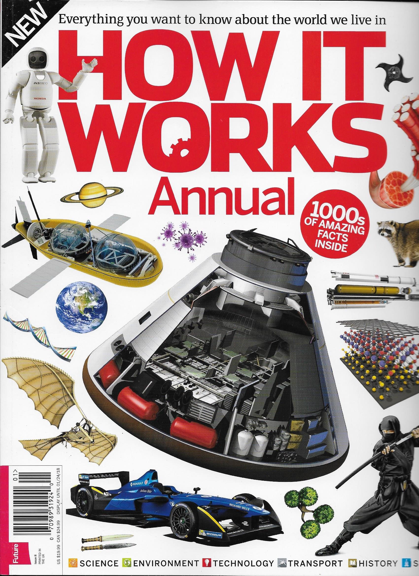 How It Work Annual Magazine 2018 Volume No. 8 pdf