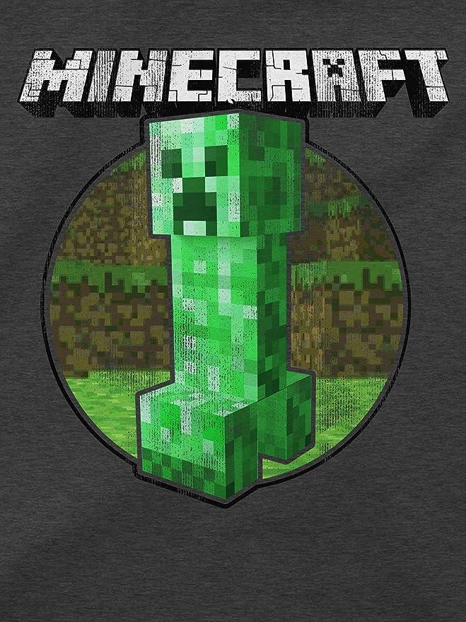 Amazon.com: JINX Minecraft Mens Retro Creeper Pullover ...