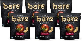 6-Pack Bare Natural Chips Gluten Free + Baked Multi Serve Bag 3.4 Oz