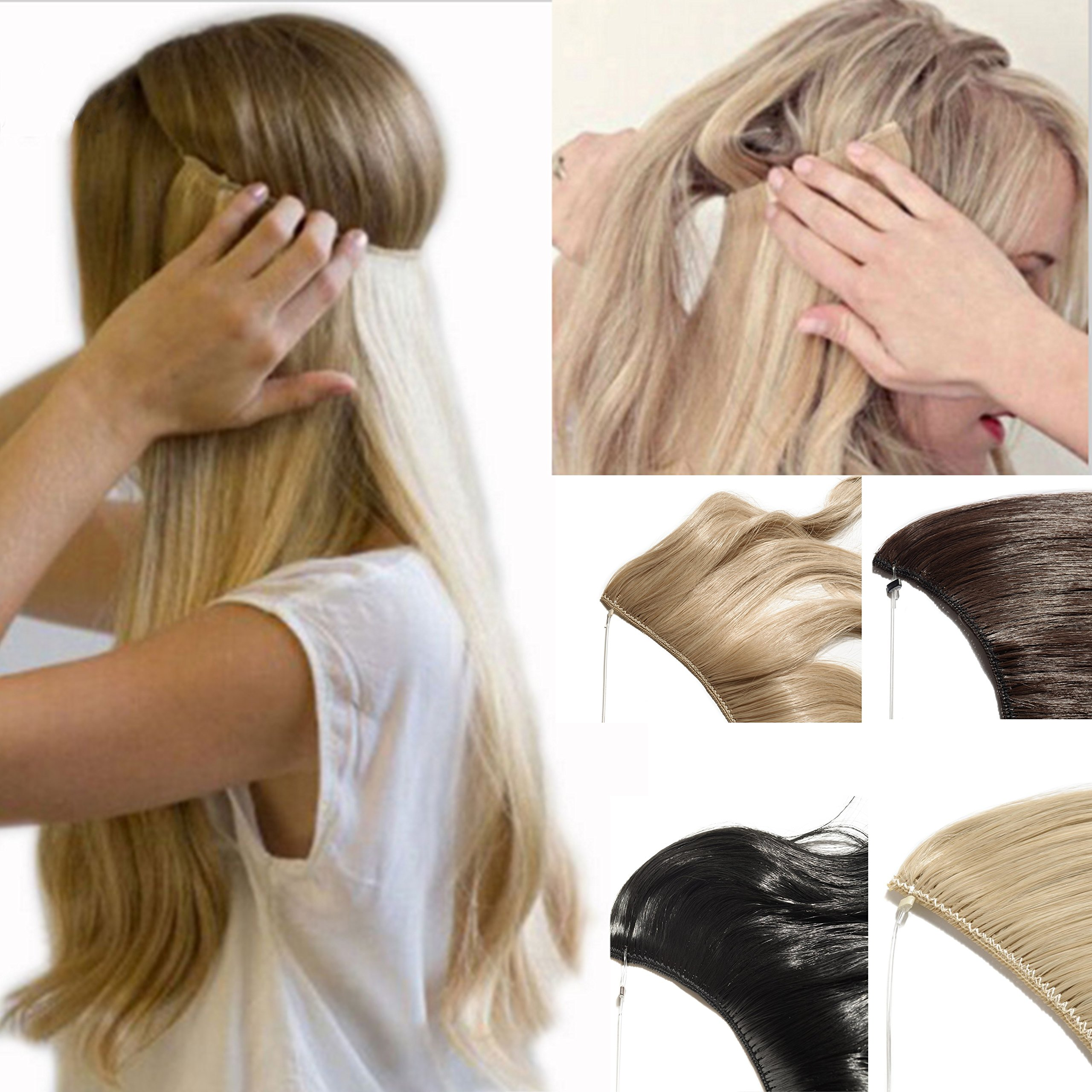 Amazon 2 5 Days Delivery Best Synthetic Hair Extensions 20