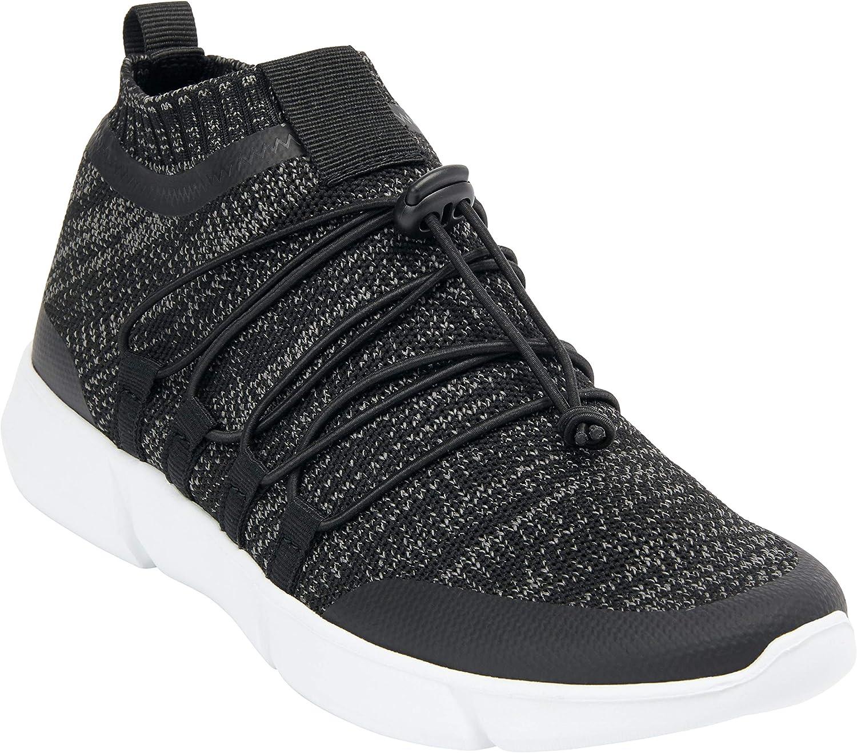 Comfortview Women's Wide Width The Emilia Sneaker