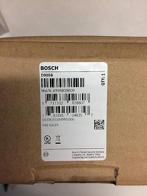 Bosch d9068- Digital alarma de incendios Communicator ...