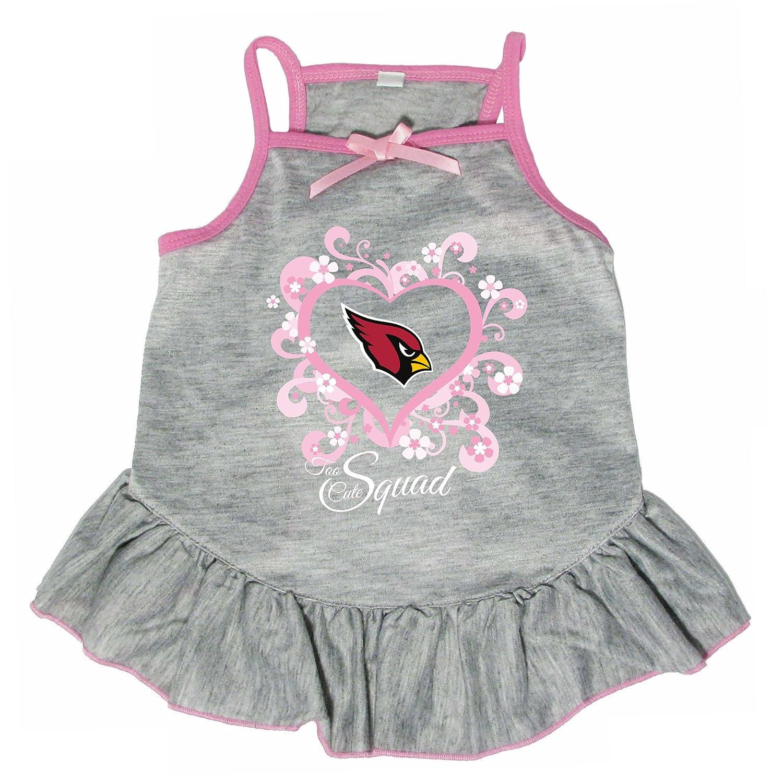 Hunter 4238-10-5300 NFL Arizona Cardinals Too Cute Pet Dress, Large