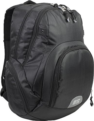 Eastsport Universal Tech Backpack With Front Cooler Pocket, Black