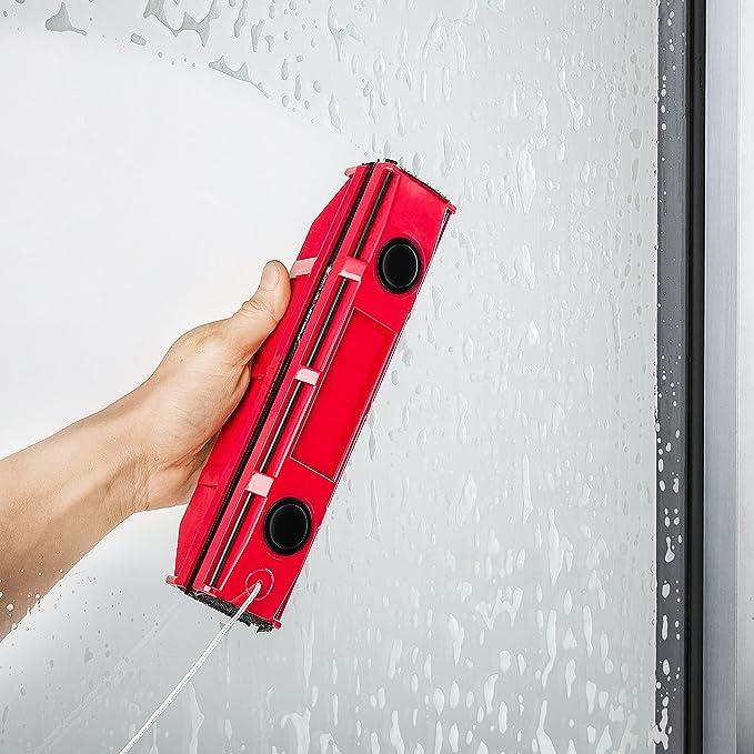 Tyroler Bright Tools Nettoyeur Vitre Magnétique The Glider S-1 | Pour fenêtre à Simple vitrage de 2 à 8 mm d'épaisseur | Lave-vitre aimanté