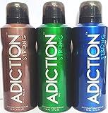 Adiction Addiction Deodorant (Combo of 3pc) 100gm each 5J-R4ZI-0NKE