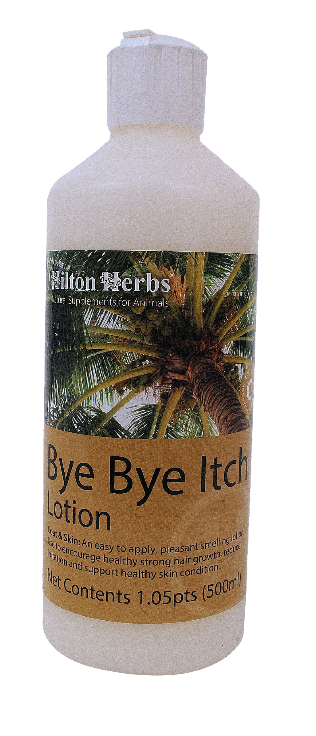 Hilton Herbs Bye Bye Itch Skin Allergy Lotion for Horses / Dogs 500ml