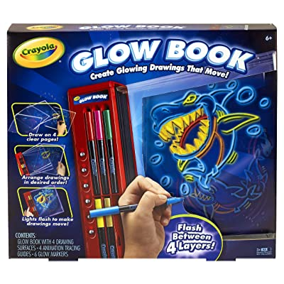 Crayola Glow Book: Toys & Games [5Bkhe1001339]