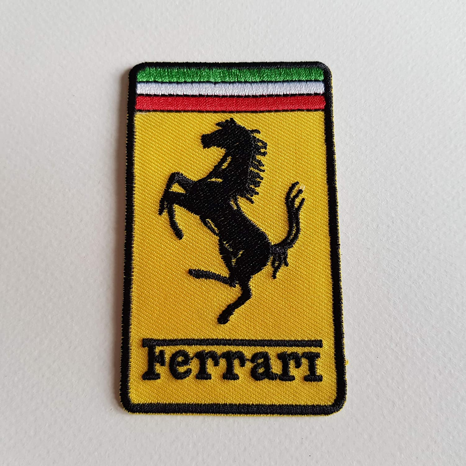 BLUE HAWAI ECUSSON Patches AUFNAHER Toppa THERMOCOLLANT - Ferrari 5, 5 * 9 CM