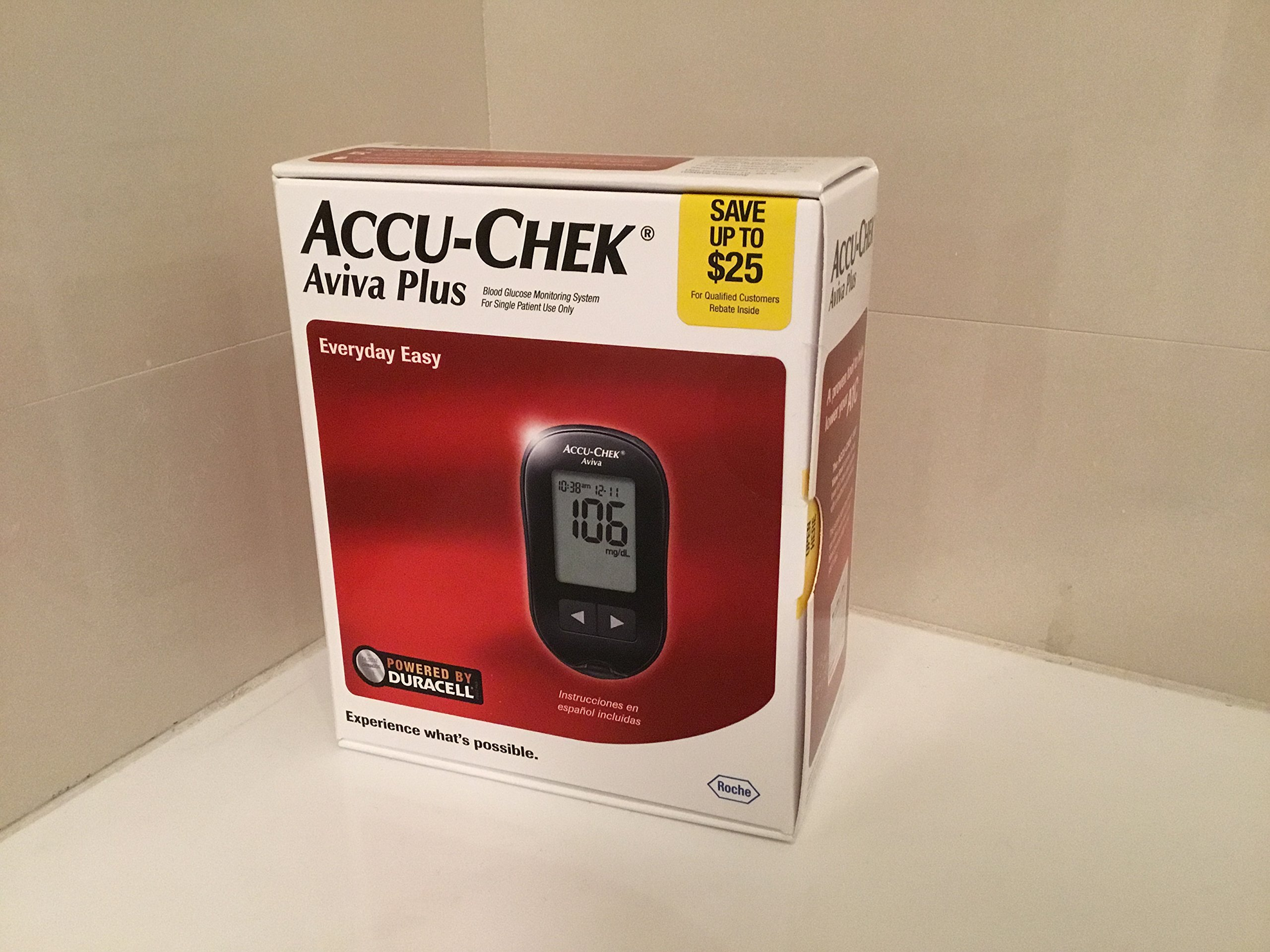 Roche 365702101104 Accu-Chek Aviva Diabetes Monitoring Kit - Meter System