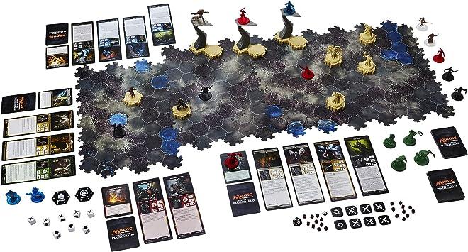 Hasbro B7410100 Juego de tablero Magic: The Gathering Arena Of The Planeswalkers Shadows Over Innistrad, 10 año(s), 48 piezas (versión alemán): Amazon.es: Juguetes y juegos