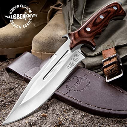 Amazon.com: United Cutlery Hibben Legacy Cuchillo de combate ...