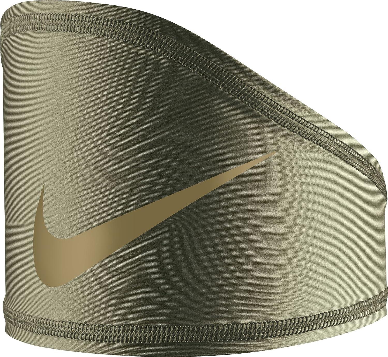 Nike Pro Dri-FIT Vapor Fade Skull Wrap (Olive/Gold, One Size)