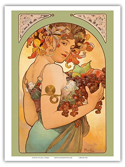 Amazoncom Pacifica Island Art Fruit Art Nouveau La Belle