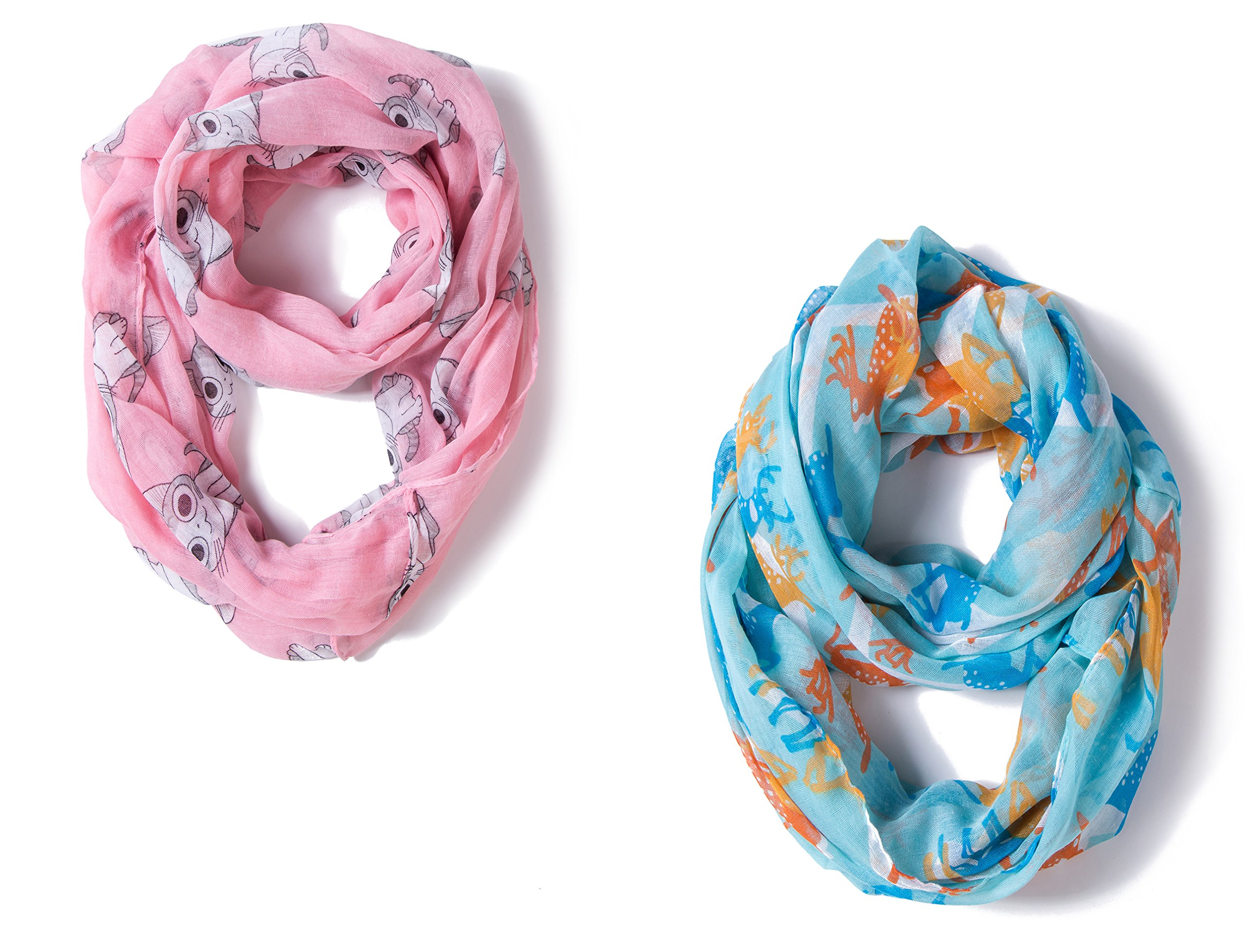 Baby Lightweight Infinity Scarves Toddler Girls Boys Shawl Wraps for Kids by A Sund (pair2#)