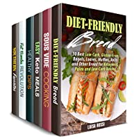 Everything Low Carb Box Set (6 in 1): Over 200 Diet-Friendly Keto, Sous Vide, Vegetarian...