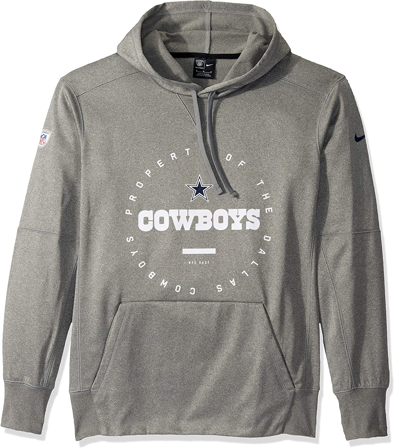 Dallas Cowboys Mens Nike Staff Fleece Hoodie Long Sleeve Nike Staff Fleece Hoodie