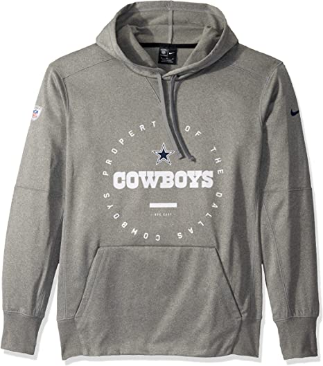 Dallas Cowboys Mens Nike Staff Fleece Hoodie Long Sleeve Nike Staff Fleece Hoodie